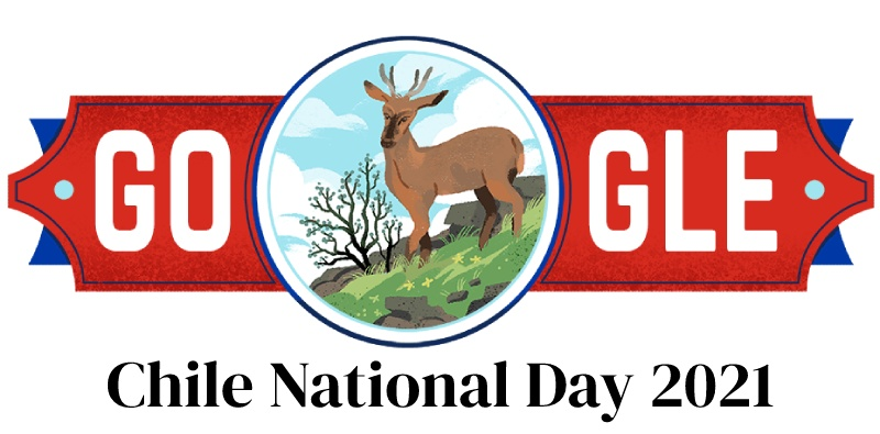 Chile National Day 2021 Google Doodle celebrates Chilean Independence Day Fiestas Patrias