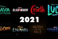 Disney will release the rest of 2021 upcoming movies exclusively in theaters