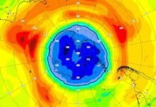Earths ozone layer hole over Antarctica is bigger than usual this year researchers say