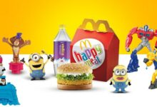 McDonalds promises to offer more sustainable Happy Meal toys worldwide before the finish of 2025