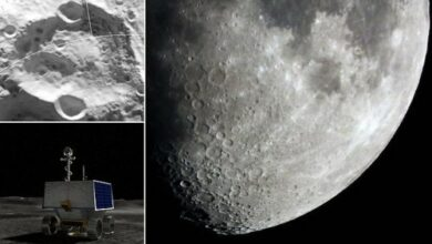 Nasa picks landing site for Moon automated rover mission