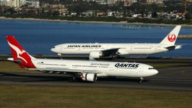 Qantas Airways and Japan Airlines alliance plans denied by the competition watchdog ACCC