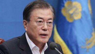 South Korean President Moon Jae in visited New York to attend the UN General Assembly annual session