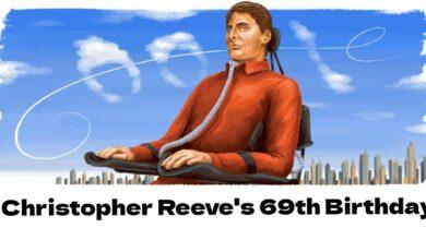 christopher reeve 69th birthday