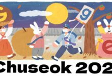 chuseok 2021 Chuseok 추석 秋夕 literally Autumn eve otherwise called hangawi 한가위 the Harvest Moon Festival