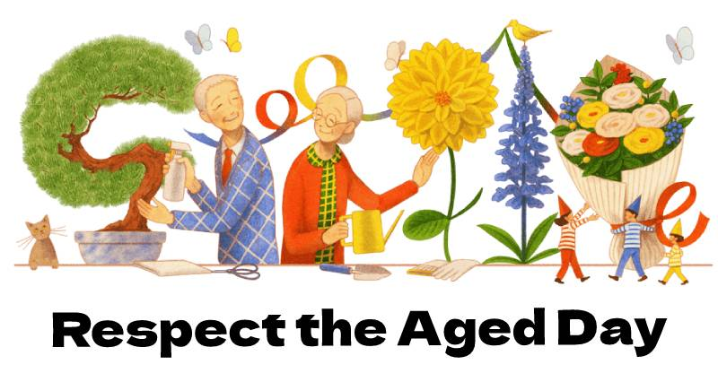 respect the aged day 2021 敬老の日