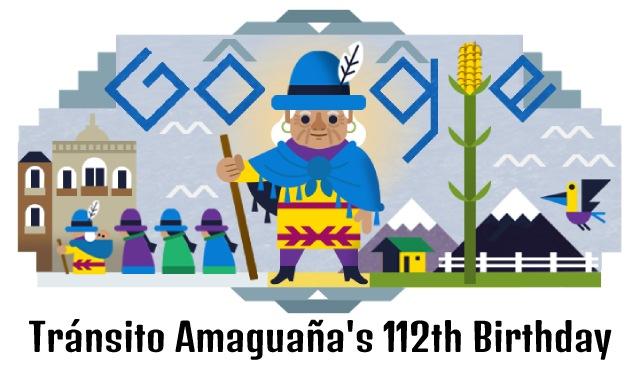 transito amaguana 112th birthday