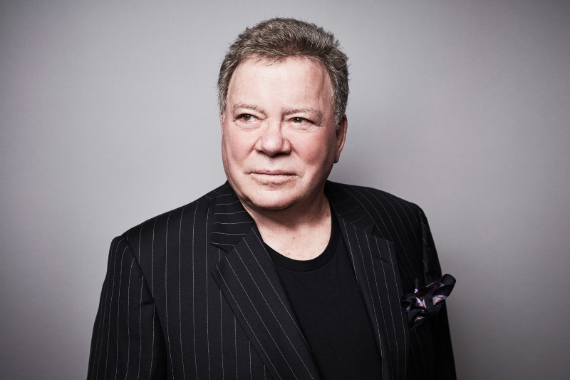 William Shatner who played Captain Kirk role in Star Trek will travel to space on a Blue Origin launch on Oct 12