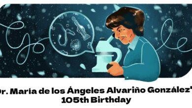 dr maria de los angeles alvarino gonzalez 105th birthday