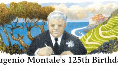 eugenio montale 125th birthday
