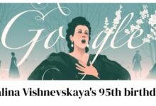 galina vishnevskaya 95th birthday