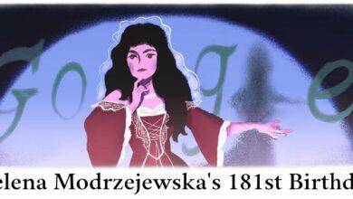 heleny modrzejewskiej 181st birthday