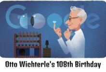 otto wichterle 108th birthday