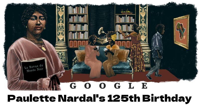 paulette nardal 125th birthday