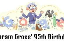 yoram gross 95th birthday